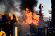 آتش پالایشگاه تهران مهار شد