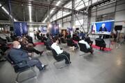 افتتاح کارخانه لوازم خانگی مادیران توسط رئیس جمهور