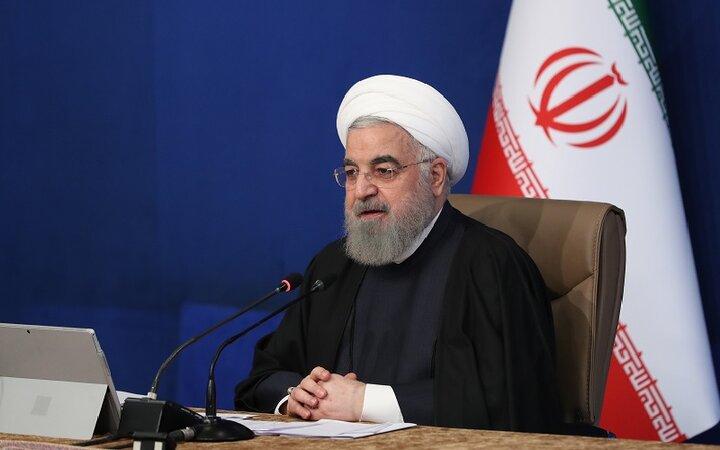 روحانی: انکار دستاوردهای دولت، راهبرد مخالفان ایران است
