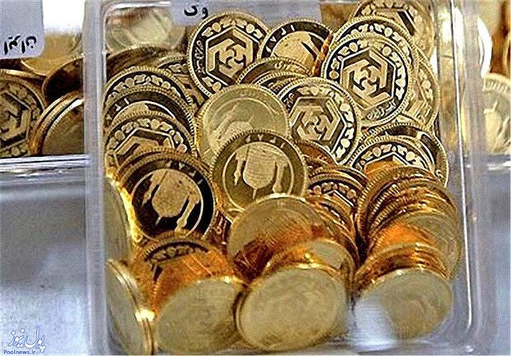 قیمت انواع سکه در ۱۴۰۰/۰۱/۲۱