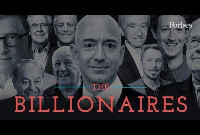 ثروتمند ترین های جهان چه کسانی هستند و چقدر ثروت دارند؟ + عکس
