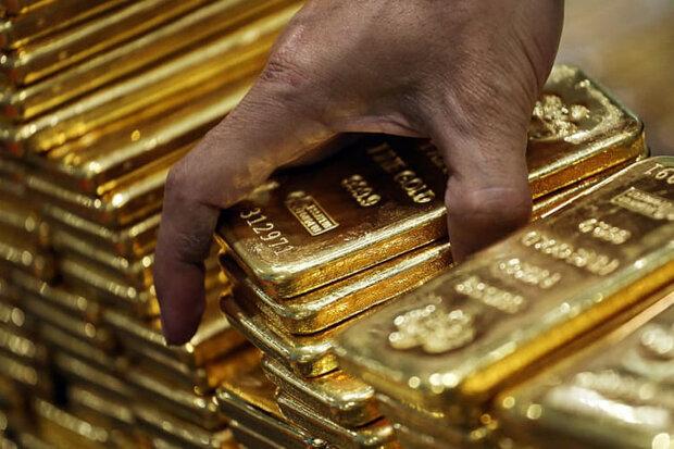 قیمت جهانی طلا در ۱۴۰۰/۳/۸