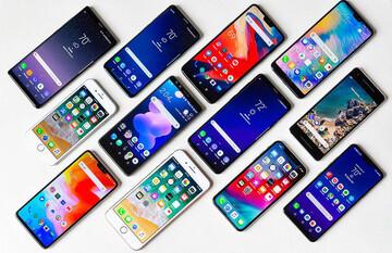 قیمت گوشیهای ۲ تا ۵ میلیون تومان در بازار +جدول