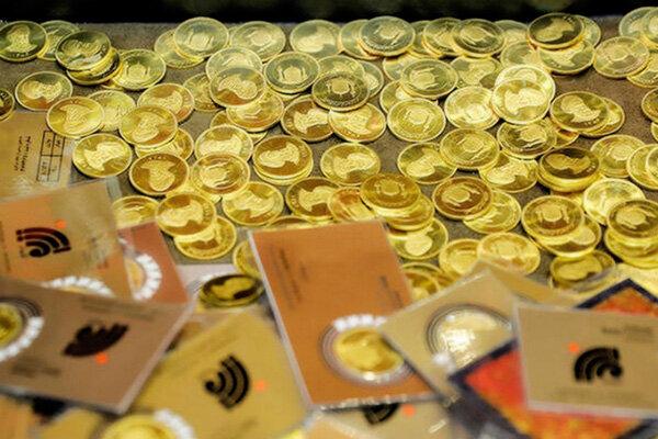 قیمت انواع سکه در ۱۴۰۰/۰۱/۱۵