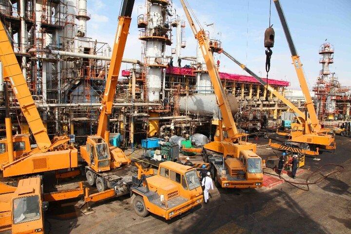 تعمیرات اساسی در شرکت پالایش نفت تهران