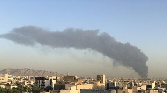 پالایشگاه تهران دچار حرق شد