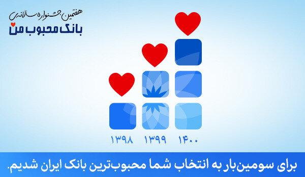 محبوبترین بانک ایران معرفی شد