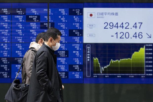 ریزش شاخصهای سهام آسیا اقیانوسیه