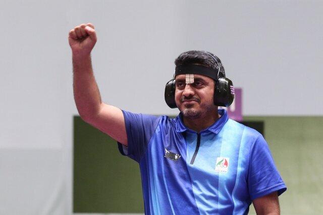 کسب اولین مدال المپیک تاریخ تیراندازی ایران توسط جواد فروغی