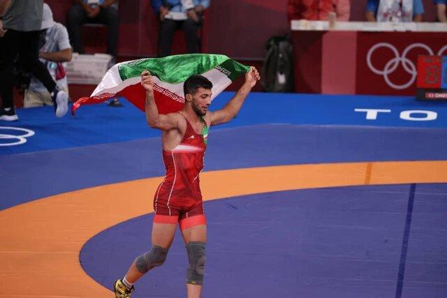 دومین طلای ایران در دستان گرایی