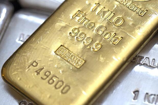 قیمت جهانی طلا (۱۴۰۰/۰۶/۱۵)