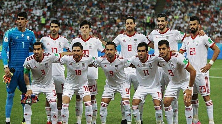 اعلام فهرست بازیکنان تیم ملی فوتبال ایران