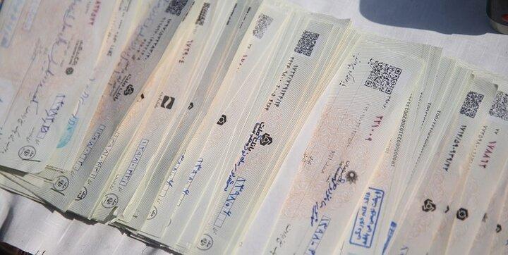 تعداد چکهای مبادلهشده یک ساله چقدر بود؟