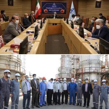 بازید وزیر نفت از شرکت پالایش نفت تهران