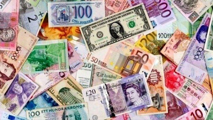 نرخ رسمی ۱۸ ارز بالا رفت