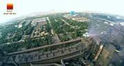 آیین کلنگ زنی سه طرح توسعه ای شرکت فولاد خوزستان + فیلم