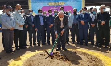 برگزاری آیین کلنگزنی سه طرح عظیم فولاد خوزستان