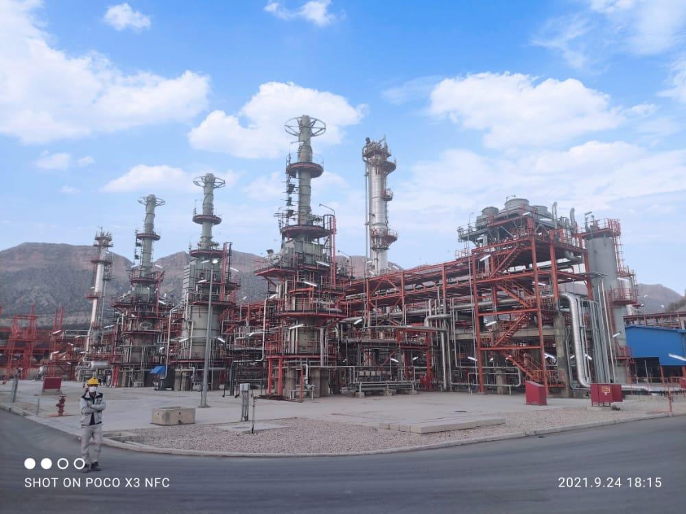 گزارشی از بازدید وزیر نفت از پتروشیمی ایلام