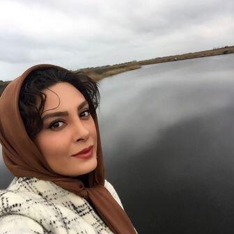 حدیثه تهرانی و همسرش در طبیعت + عکس