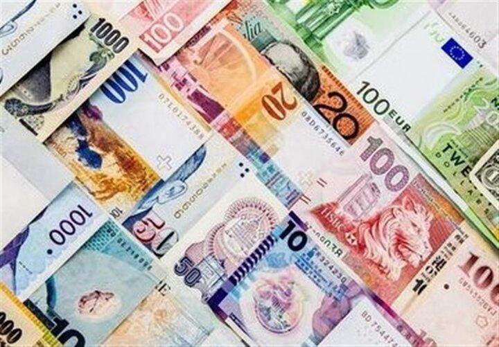 نرخ رسمی ۲۹ ارز پایین آمد