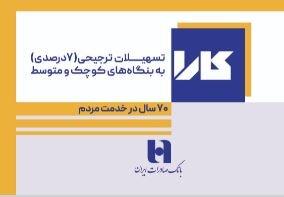 «کارا»ی بانک صادرات برای بنگاههای کوچک و متوسط