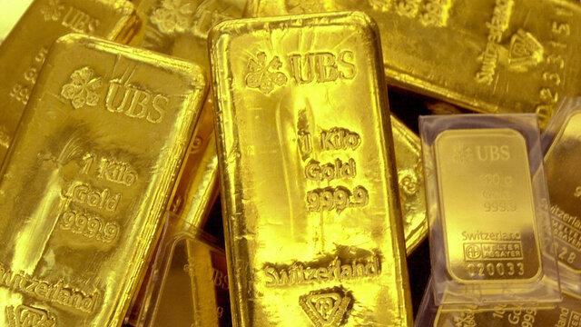 قیمت جهانی طلا (۱۴۰۰/۰۶/۲۲)